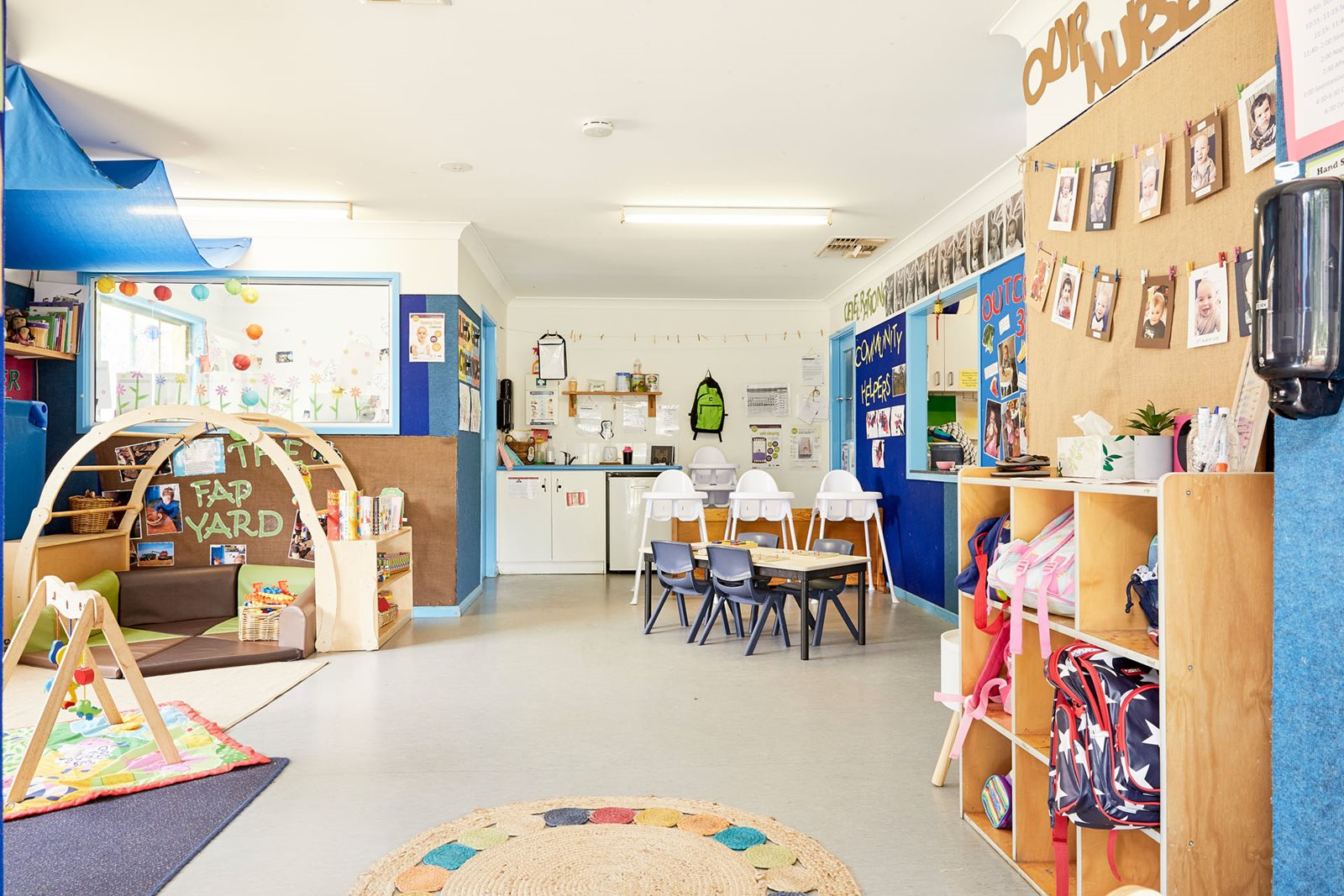 Infant classroom at Milestones Cootamundra