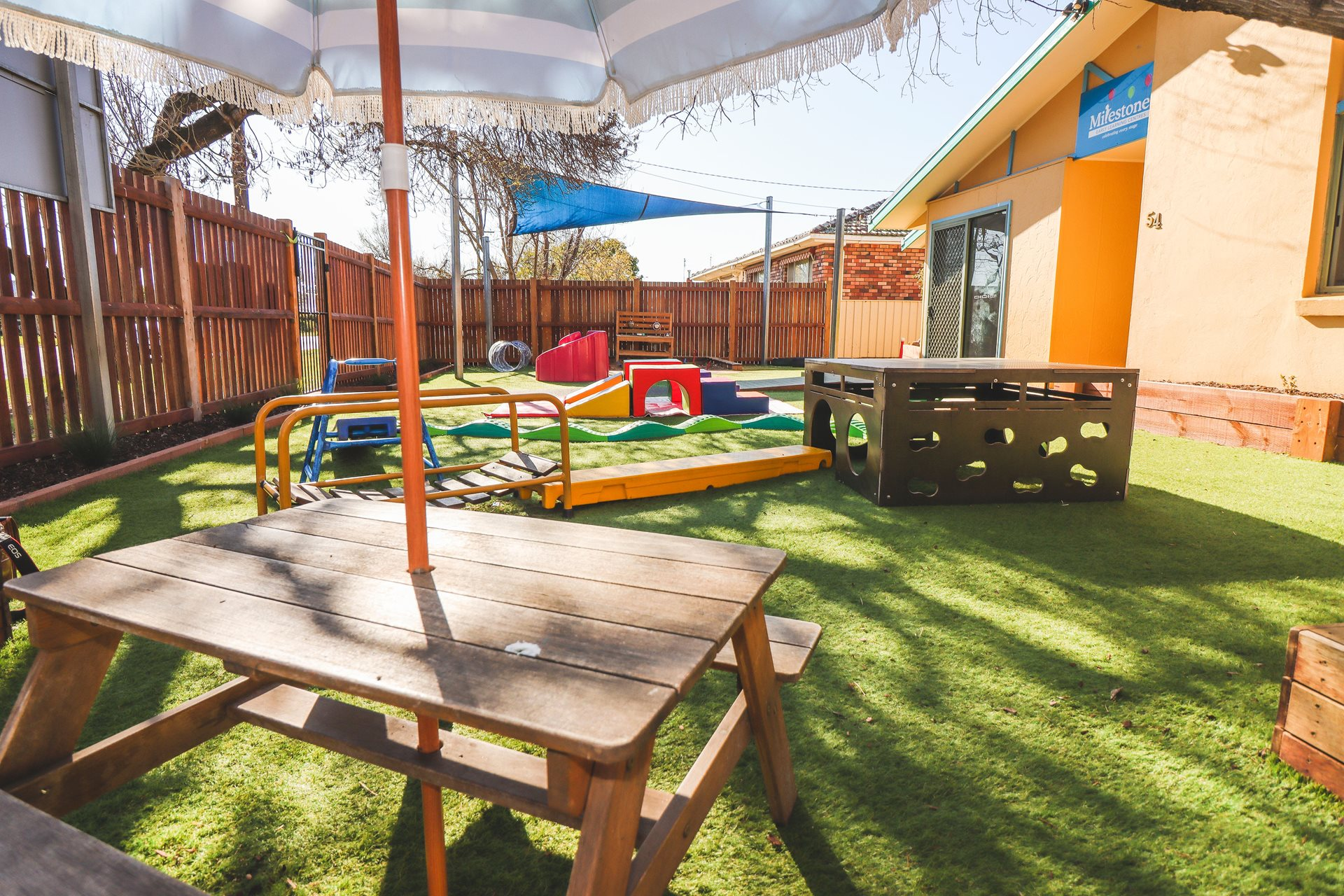 Child care classroom at Milestones Cootamundra